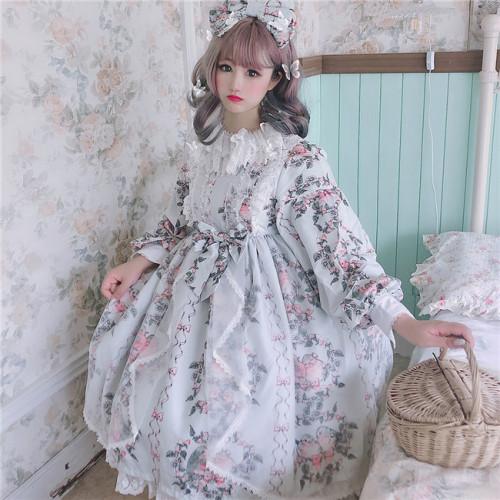 Diamond Honey ~The Bird In the Four Seasons Lolita OP -Ready Made