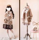 Penny House White Bear Lolita Coat -Ready Made