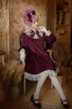 Fleurs Avec Echo&Annabel~ Velvet Lolita OP Dress -OUT