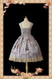 Infanta ~Broken Doll~ Lolita Printed Jumper -Ready Made