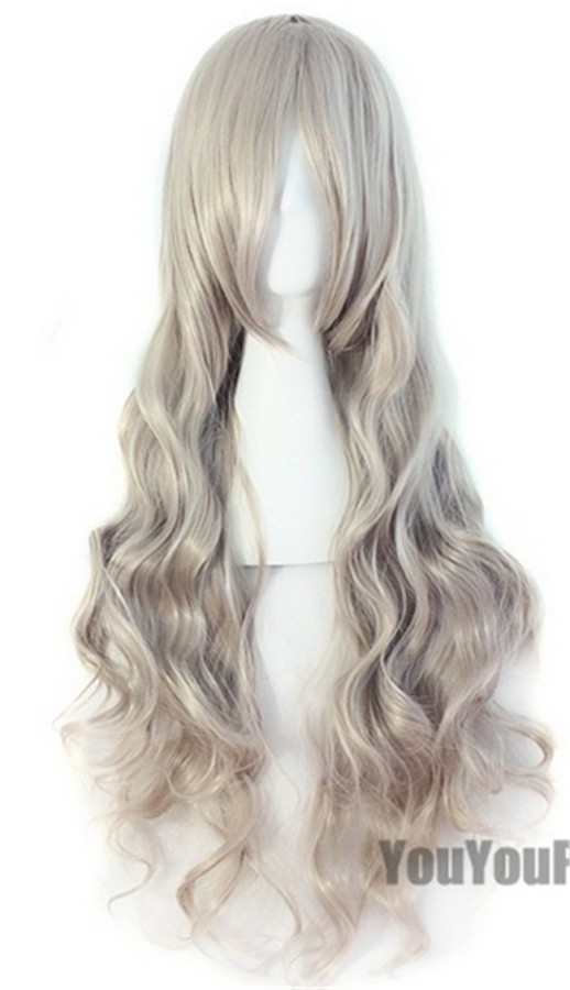 Beautiful Girl's Blonde Long Curls Wig
