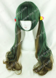 Amo Harajuku Jade Green Brown Lolita Hairpiece