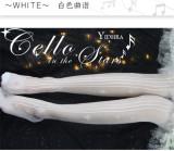Cello in the Stars~ Lolita Above Knee Socks