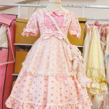 Magic Tea Party ~ Heart's Desire~ Sweet Lolita OP -Pre-order