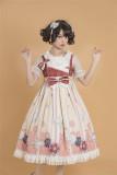 Japanese Paper Folding ~ Kimono Style Vintage Lolita JSK  Dark Purple Size L in Stock