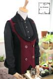 Rank of Nobility Series~ Ouji Lolita Blouse 3 Versions Custom-tailor Available