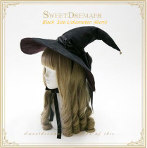 Sweet Dreamer~The Witch's House~Halloween Lolita Witchhat 2017 New Version