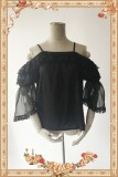 Antique Dress Shop~ Off-the-shoulder Lolita Hime Sleeves Blouse