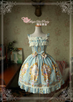 Alice~ Sweet Lolita Printed JSK Dress