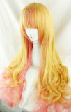 Harajuku Long Big Curls Lolita Hairpiece