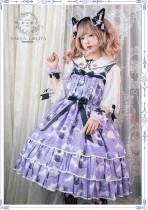 Black Cat Nebula~ Gothic Lolita JSK for Adults