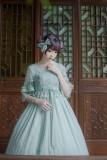 IchigoMikou ~Drizzle & Thin Clouds~ Qi Lolita OP Dress - In Stock