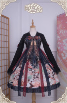 Panda ~Classic Qi Lolita OP Dress -Ready Made