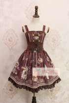 Alice Girl~ Steampunk Bear&Gear~ Lolita JSK
