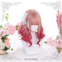 Dalao Home ~Raspberry Wine ~Sweet Short Lolita Wigs