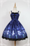 Guardian of Time & Space ~Vintage Lolita JSK Dress