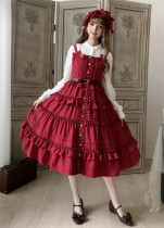 Little Dipper Mary~ Classic Front Open Design Lolita JSK -In Stock