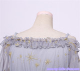Constellation & Ode To The Stars~ Net Yarn Draw String Lolita OP