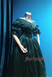 Surfacespell ~ Portrait of A Lady~ Vintage Velvet Lolita OP