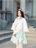 Princess Faith Sweet Snow White Lolita Short Cape