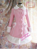Emilia Love Heart Sweet Long Lolita Winter Coat