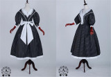 Little Sister Of Oxford~ College Style Stripe Lolita OP -Pre-order