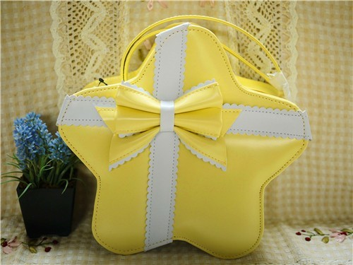 Loris Cute Star Bows Lolita Bag