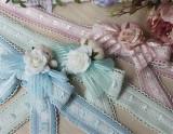 Sakura In Spring~ Lolita Fullset [--OP Dress + Embroidery Waist Belt + Triangular Scarf + Pinafore--]