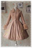 Infanta Merry-go-round Gold Emboridery Lolita Jacket and Cape