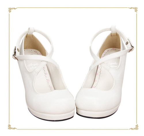 Angelic Imprint- Elegent Lolita Princess Heels Shoes