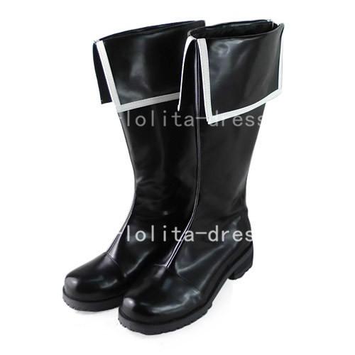 Gothic Black Touhou Project Reimu Hakurei Boots