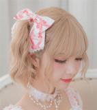 Strawberry Feast- Sweet Lolita JSK Pink Size L - In Stock