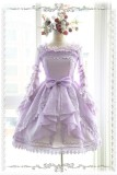 Infanta Detachable Set-in Hime Sleeves Chiffon Lolita Short Version Blouse