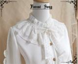 Forest Song ~Rose Letterhead~ Winter Lolita Blouse -Pre-order