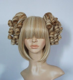 Two Light Brown Mixed Colors Lolita Hair Piece