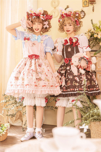 Miss Point ~The Tailor Rabbit Lolita Salopette -Reay Made
