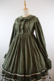 Vintage Unicolor Lolita OP + Surface Dress - Pre-order Closed