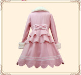 Sweet Single Breasted Lolita Long Coat