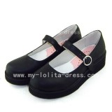 Gothic Black Soryu Asuka Langley Shoes