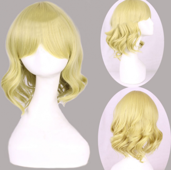Lady's Light Gold Sweet Lolita Wig