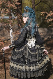 Dawn Nightmare~ Elegant Lolita OP Bridal Design -Ready Made