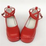 Black Velvet High Platform Women Shoes