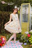 Magic Tea Party~ Cat&Marmalade~Sweet Lolita JSK Version I-Ready Made