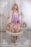 Neverland Lolita ~Cats in My Courtyard~ Set-in Hime Sleeves OP Dress