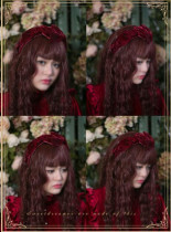 Cutie Creator ~ Little Red Riding Hood~ Lolita Headband