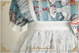 Antique Tea Party ~Sweet Printed Lolita Skirt -Pre-order