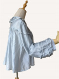Infanta ~The Picnic Babydoll Style Lolita Blouse -Ready Made