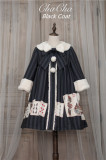 Poker Cat~ Classic Lolita JSK Normal Waist/High Waist -Ready Made