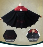 Vintage Bat Shaped Lolita Cape -Ready Made