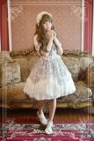 Neverland Lolita Antique Clock Sweet Lolita Puff Sleeves OP Dress off